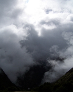 Clouds on Inca Trail