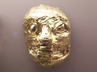 Funky Gold Mask