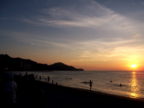Sunset in Santa Marta